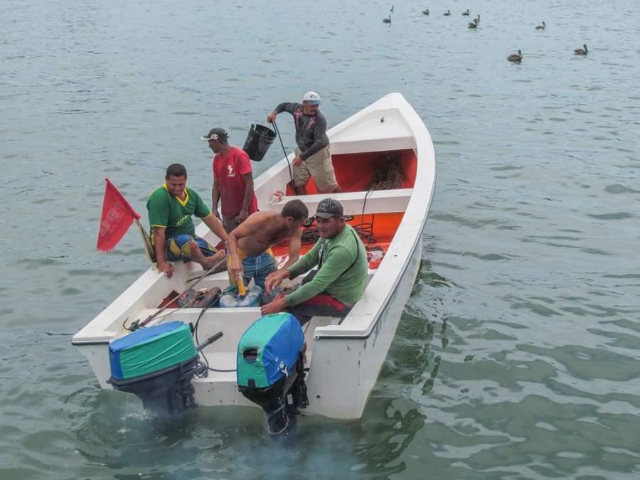 La pesca es una de las principales actividades en Juan Griego