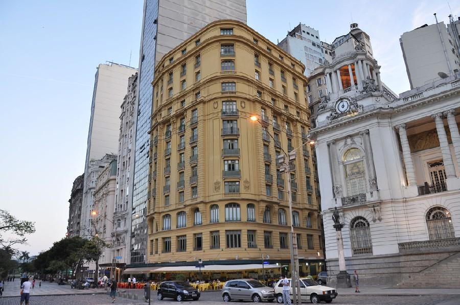 Edificio Mozart en el centro