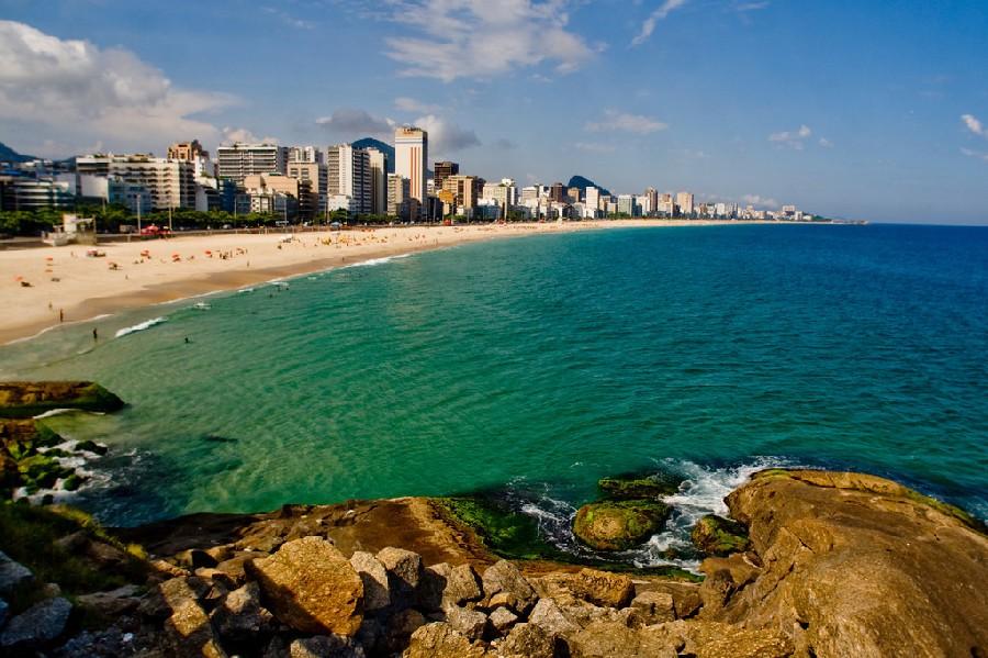 Playa en Río