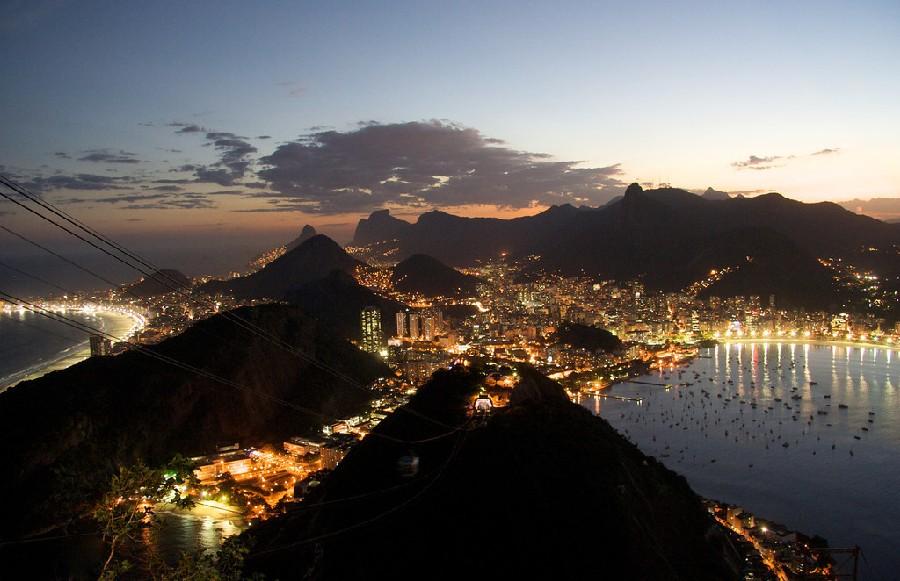 Río de Janeiro de noche