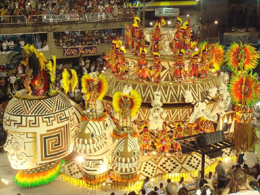 Mundialmente famoso Carnaval de Río