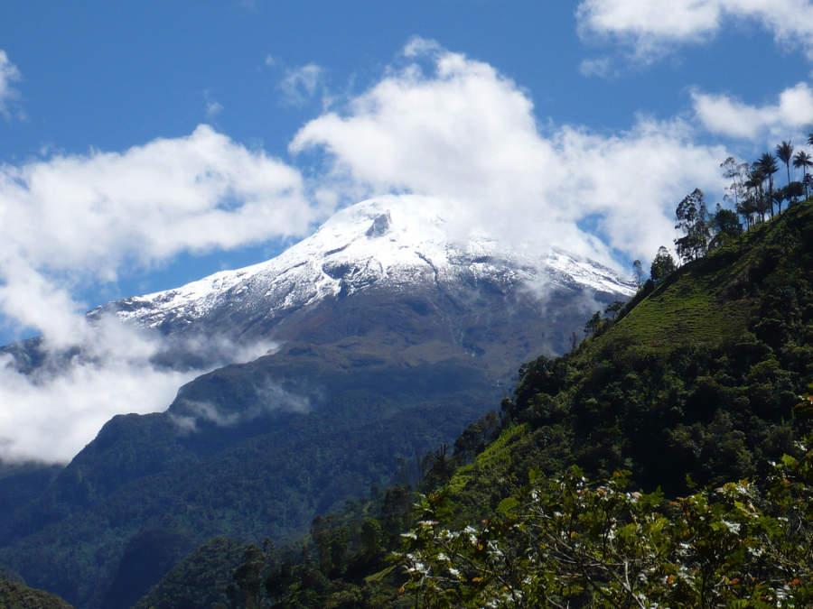 Nevado del Tolima, cerca de San Bonifacio de Ibagué