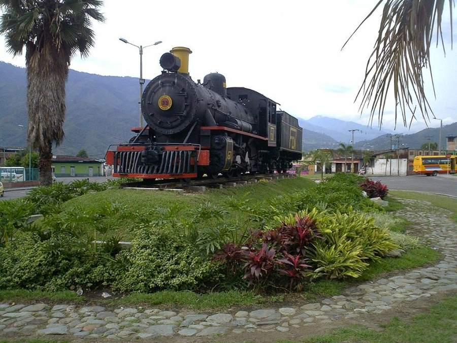 Locomotora de los Ferrocarriles Nacionales de Colombia