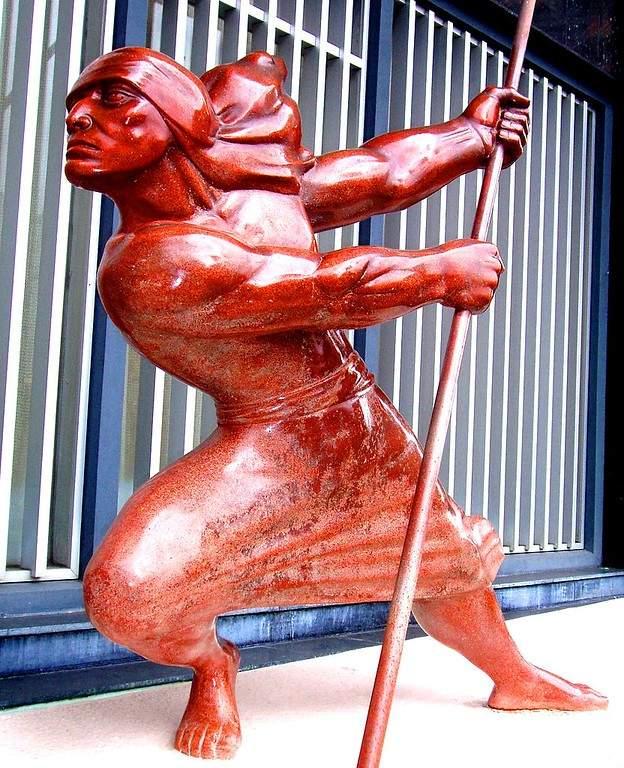 Aprecia las esculturas de San Bonifacio de Ibagué