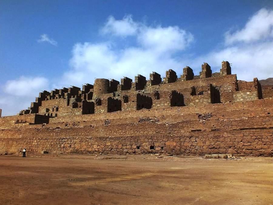 Ruinas de Huanchaca, restos de una antigua fundición de plata