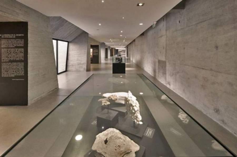 Interior del Museo del Desierto de Atacama