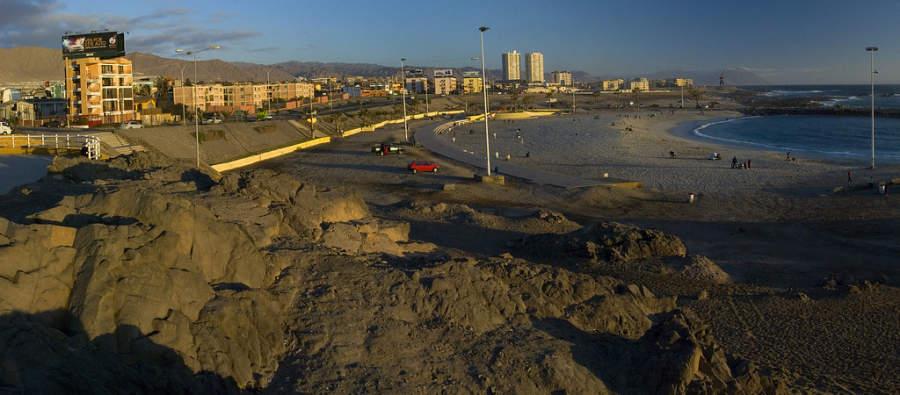 Playa El Trocadero en Antofagasta