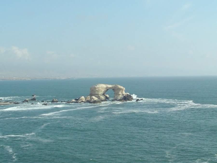 Monumento Natural La Portada, a 18 kilómetros de Antofagasta
