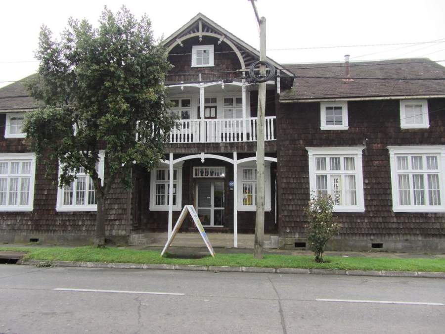 Casa Yunge, otra de las casas de marcado estilo alemán