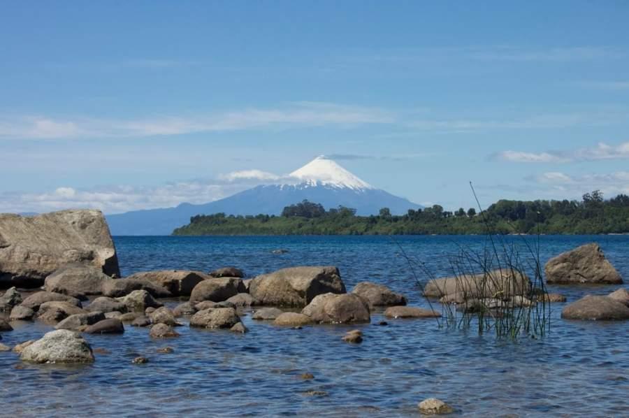 Panorámica del volcán Osorno