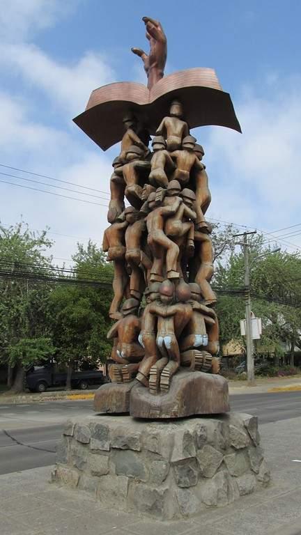Monumento 33 Mineros en la ciudad de Rancagua