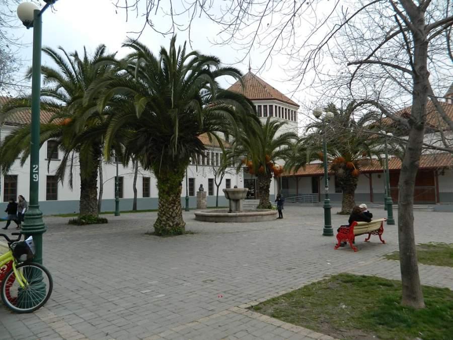 Plazuela Marcelino Champagnat en la ciudad de Rancagua