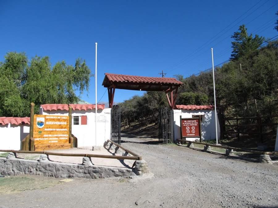 La Reserva Nacional Río Los Cipreses se ubica en la cordillera de los Andes