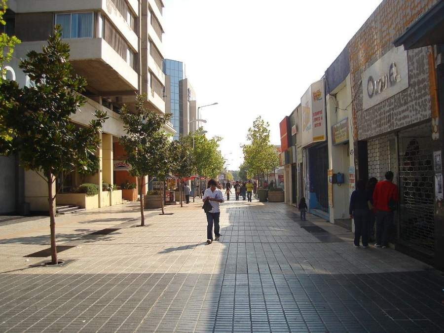Paseo Independencia, uno de los principales ejes comerciales de Rancagua