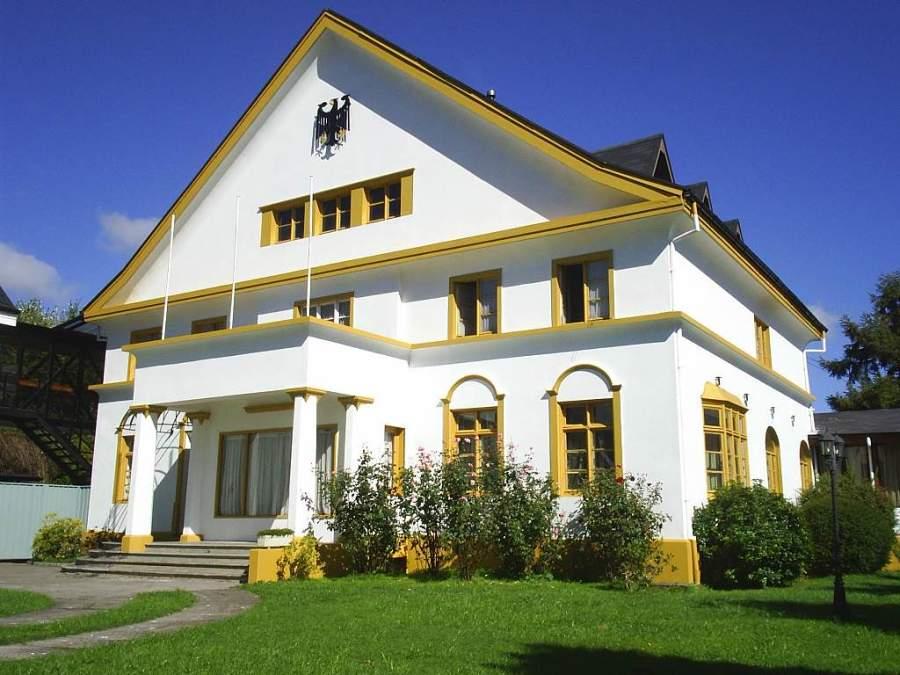 Casa cuartel de la compañía de bomberos en Osorno
