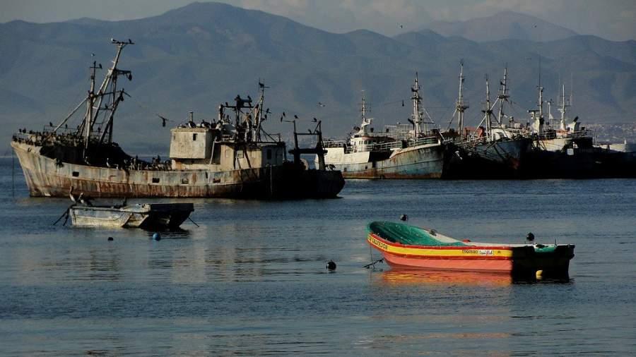 Al puerto de Coquimbo llegan naves mercantes constantemente