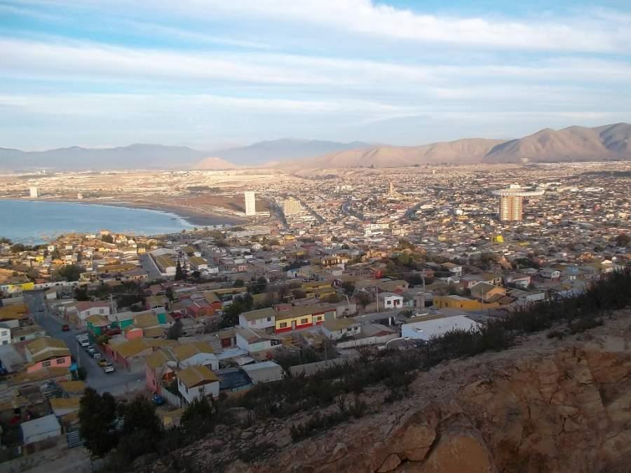 Bahía de Coquimbo vista desde la Cruz del Tercer Milenio
