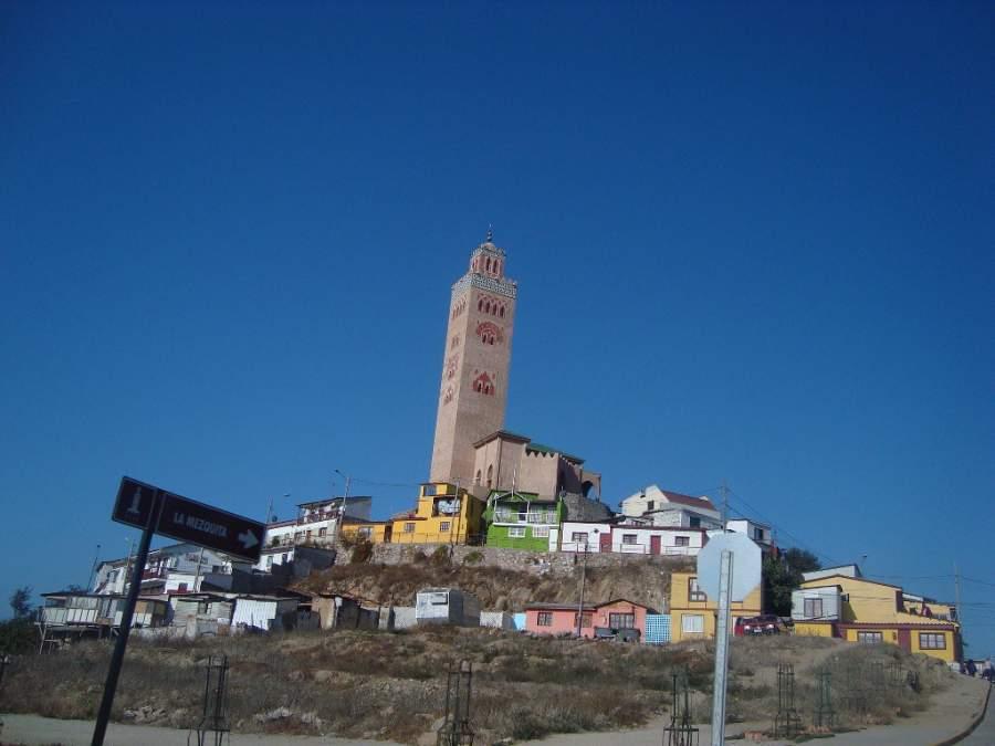Toma la foto de la mezquita en Coquimbo