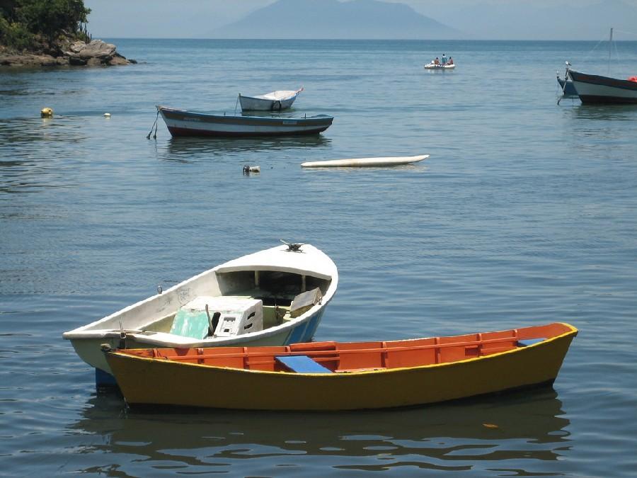 La pesca es importante en Búzios