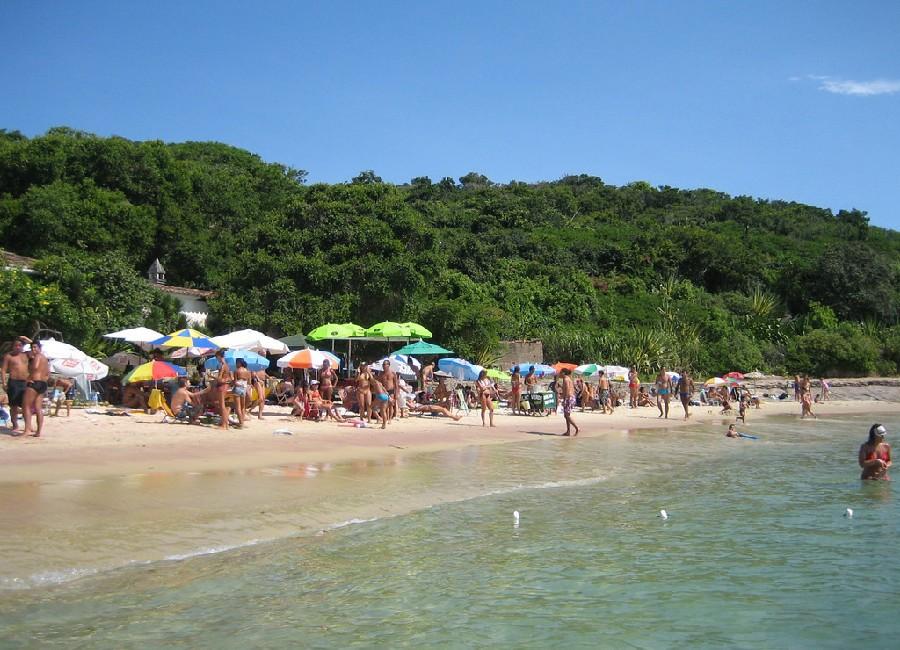 Búzios es famoso por sus playas