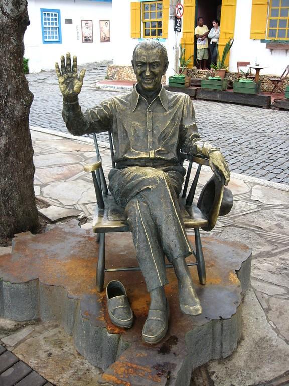 Escultura de Juscelino Kubitschek