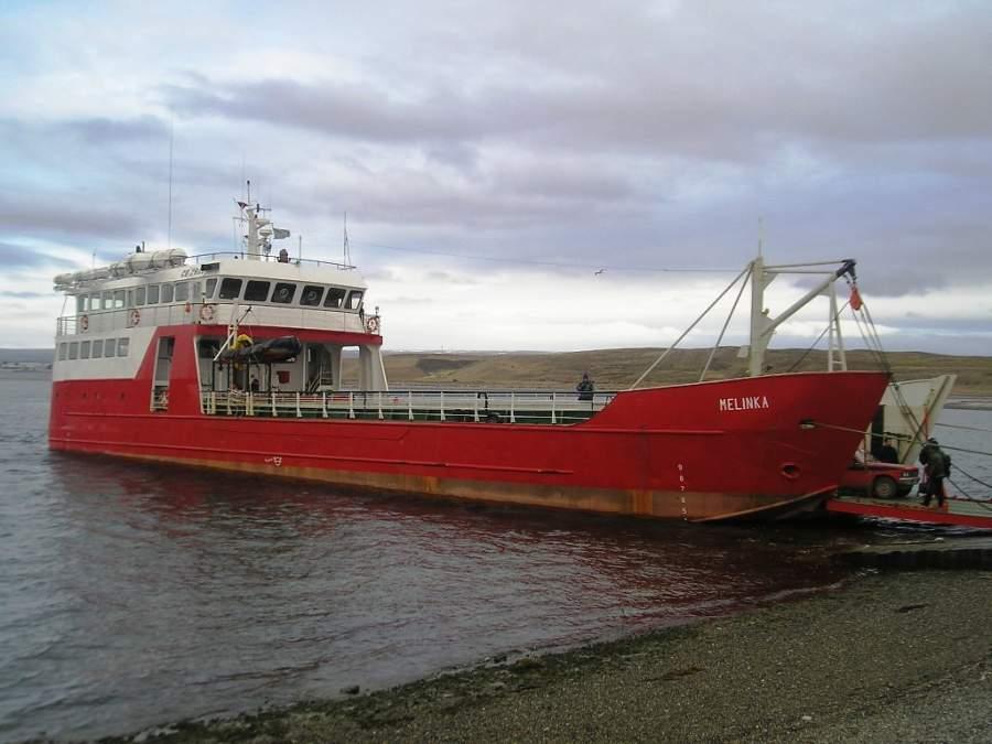 Para arribar a Porvenir debes tomar el transbordador que llega a la bahía Chilota