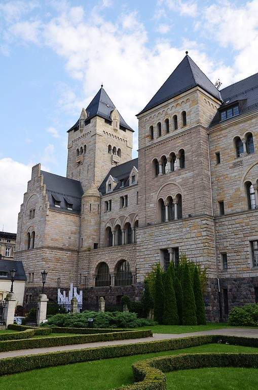 Castillo del Emperador construido en el siglo XIX