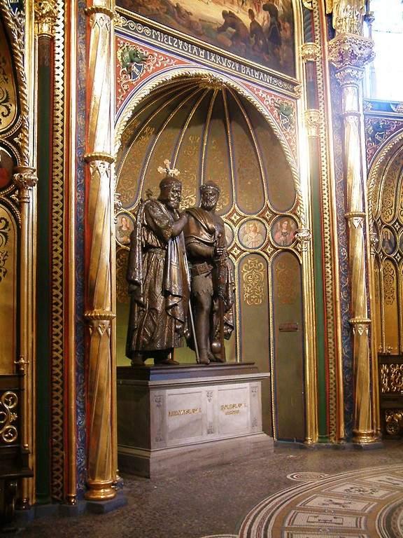 Interior de la Catedral Basílica de San Pedro y San Pablo