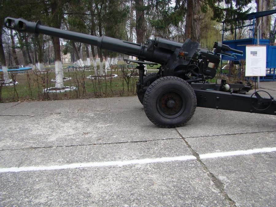 Exposición de artillería en Sibiu