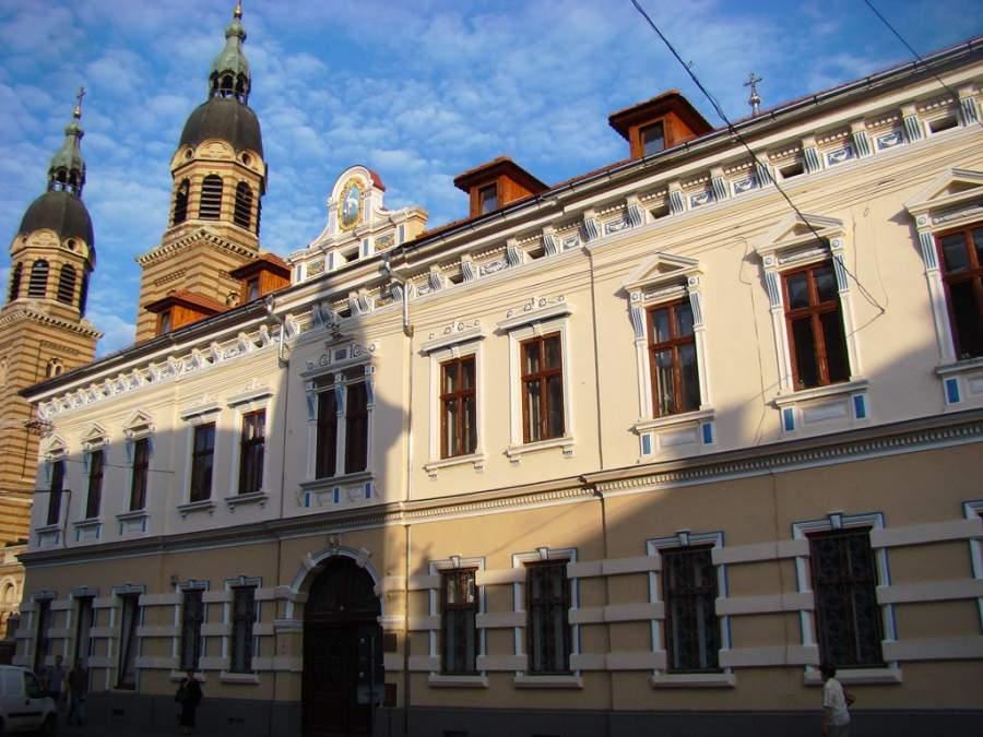 Edificios en el centro histórico de Sibiu