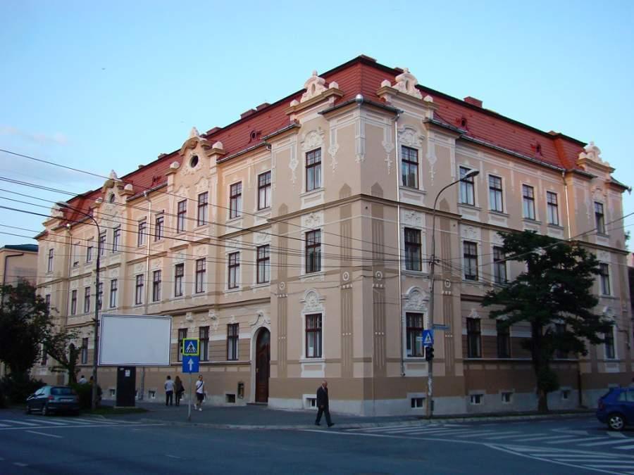 Edificio en el bulevar Victoria en Sibiu