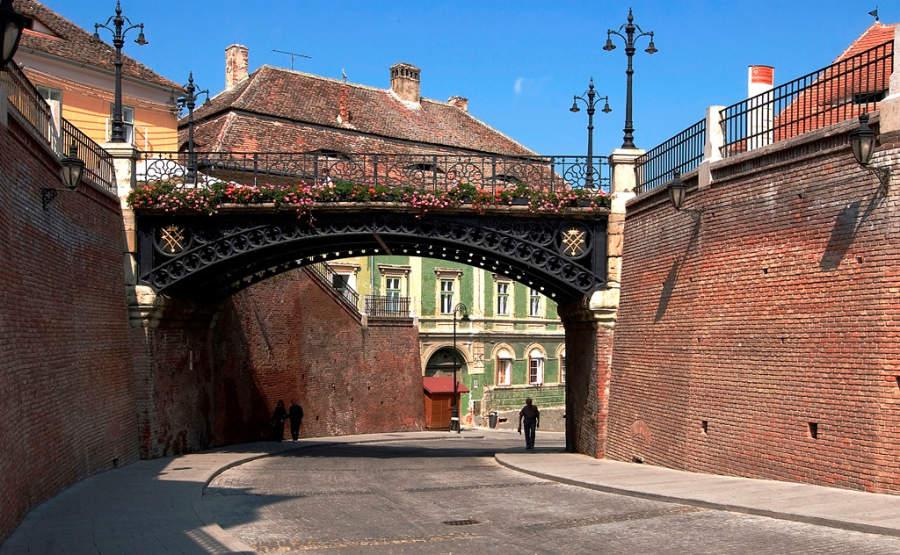 El Puente de los Mentirosos en Sibiu está lleno de leyendas