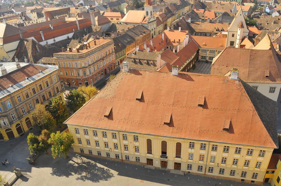 En Sibiu se puede percibir la influencia de la cultura germana
