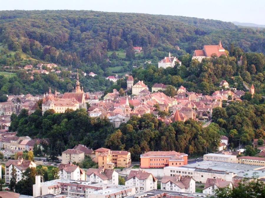 Sighisoara es una de las ciudades medievales más bellas del mundo