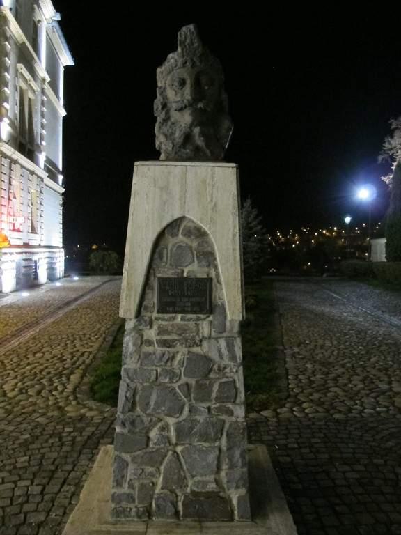 Busto de Vlad Tepes en Sighisoara