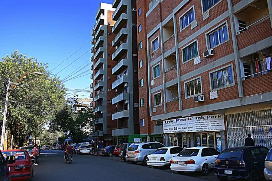 Edificios en la Ciudad del Este
