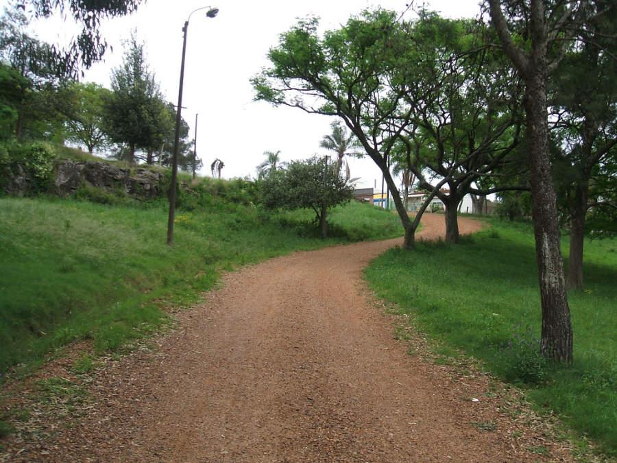 Parque Harriague en Salto, Uruguay