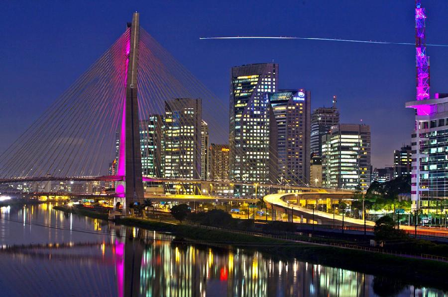 São Paulo de noche