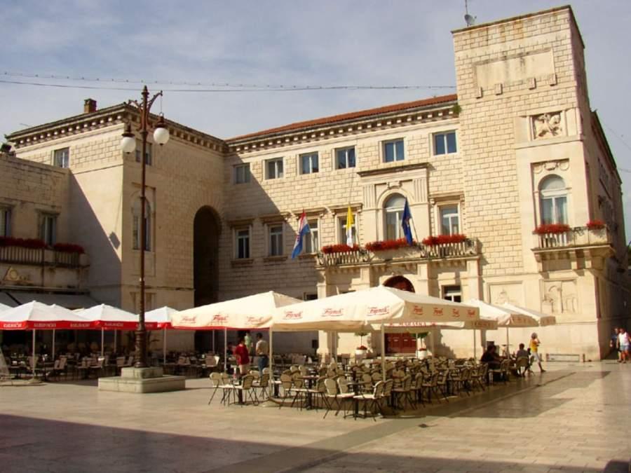 Edificio del Ayuntamiento en Zadar