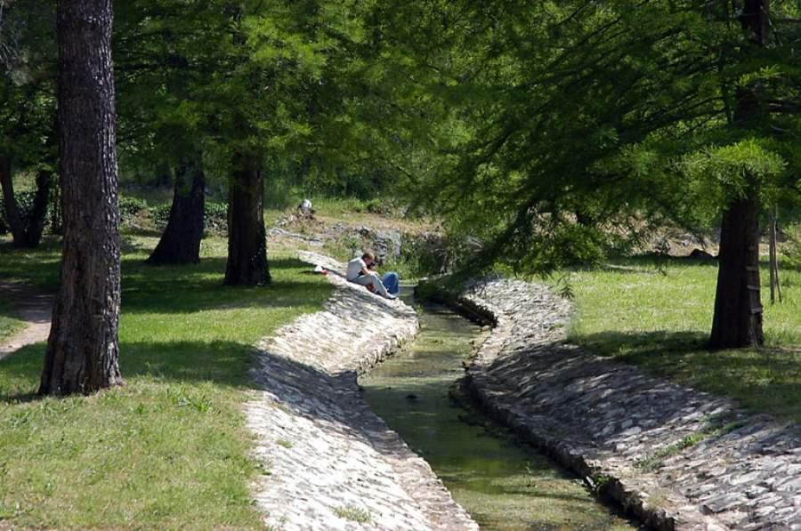 Parque en Zadar