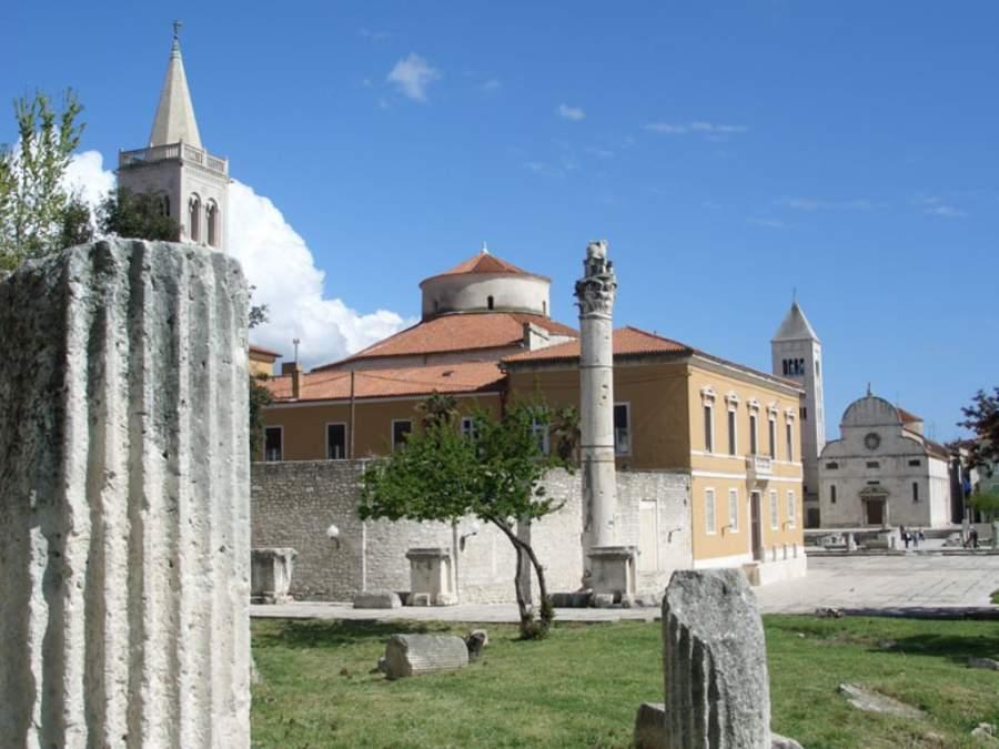 Zadar tiene uno de los foros romanos más grandes