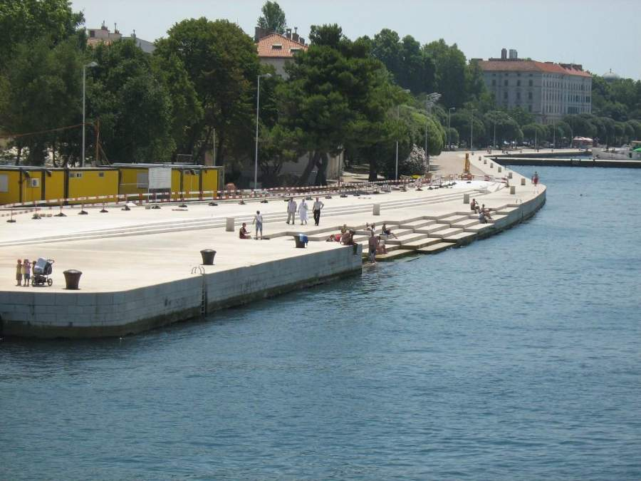 Órgano de Mar, instrumento musical en Zadar