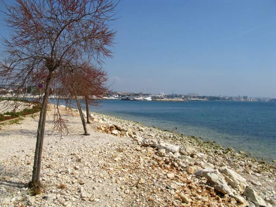 Zadar está rodeado por el mar Adriático