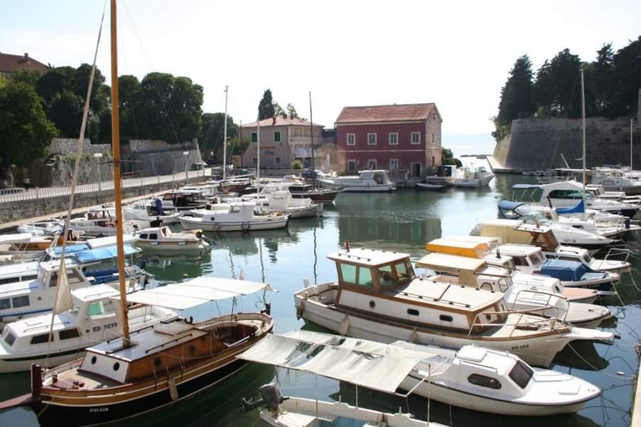 Zadar tiene un puerto