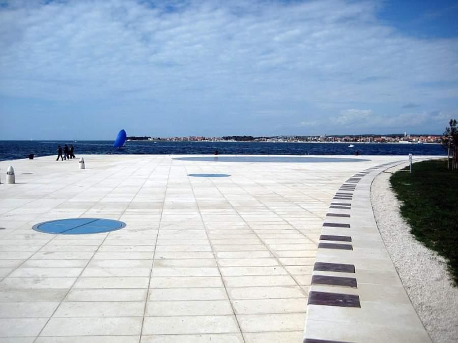 Zadar y su Monumento al Sol