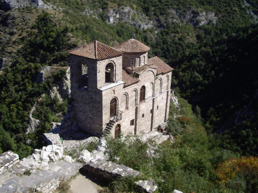 La Fortaleza Asenova Krepost está a 21 kilómetros de Plovdiv
