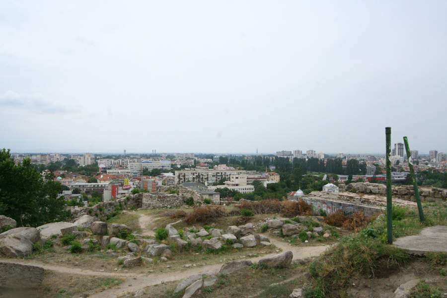 Nebet Tepe, ruinas del primer asentamiento en Plovdiv