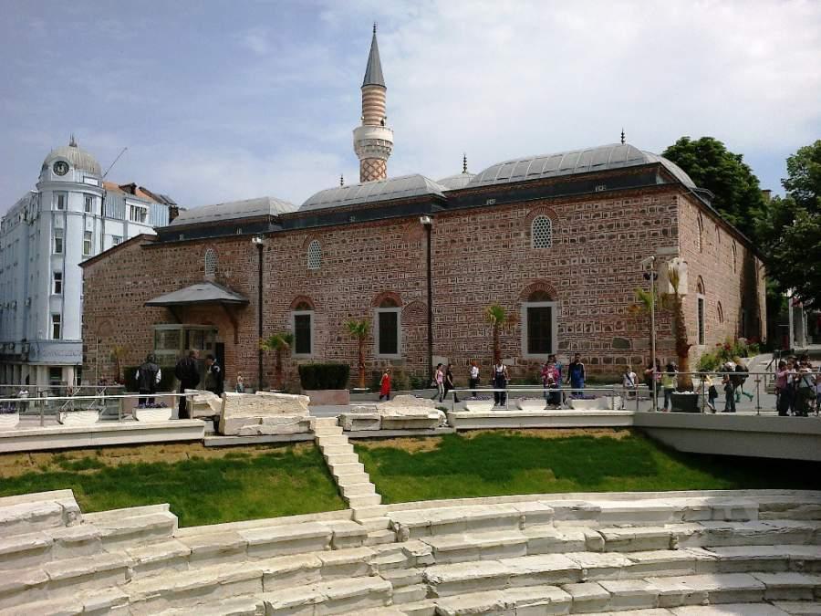 Mezquita Dzhumaya en Plovdiv