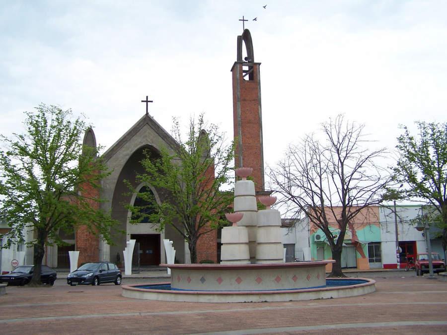 Iglesia de Nuestra Señora del Carmen en Carmelo, Uruguay