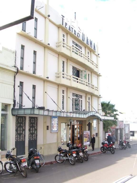 Teatro Uamá en la ciudad de Carmelo